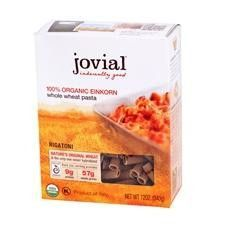Jovial Organic Whole Grain Einkorn Rigatoni (12x12oz)