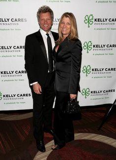 bon jovi   Musician Jon Bon Jovi and wife Dorothea Hurley attend the 2014 Kelly ...