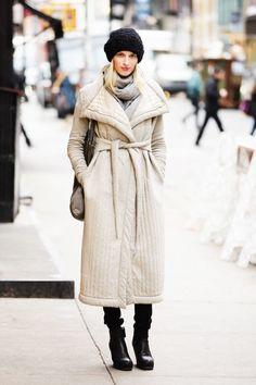 Street Chic: New York  - ELLE.com