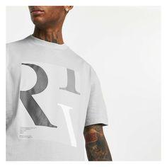 'RIV' box chest print. Crew neck. Short sleeve. Regular fit Large Prints, River Island, Nike Men, Your Style, Crew Neck, Grey, Box, Sleeve, Cotton