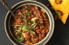 Texas-Style Baked Beans | These are hearty, main-dish baked beans that ...