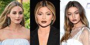 オリヴィア・パレルモ(Olivia Palermo),カイリー・ジェンナー(Kylie Jenner)、ジジ・ハディッド(Gigi Hadid)