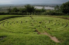 julian's bower in alkborough -- an ancient turf maze