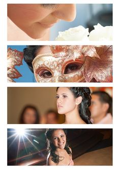 Quinceanera dresses, decorations, gowns, invitations, tiaras, favors, and photographer of course:)  In Mexico the transition from childhood to womanhood, Sweet Fifteen is marked with the celebration of the Quinceañera.