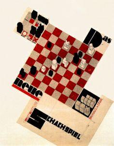 Weimar Bauhaus Chess Set