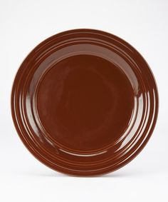 Take a look at this Chocolate Casual Classics Dinner Plate - Set of Four by Park Designs on #zulily today!