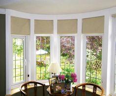 Painting Of Various Concept Of Covering Bay Window Bay Window Blindsbay Windowsroman