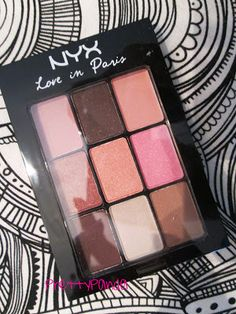NYX Love in Paris Eyeshadow Palette in Let Them Eat Cake Love this eyeshadow! Excellent  quality and only $10 at Target. Makeup 101, Skin Makeup, Makeup Inspo, Beauty Makeup, Makeup Ideas, Hair Beauty, Affordable Eyeshadow Palettes, Beauty Hacks, Beauty Ideas