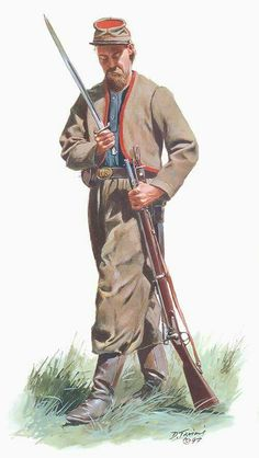 "11th Indiana Volunteer Infantry,""Wallace's Zouaves"", by Don Trioni"