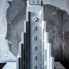 #architecture #hallgrímskirkja #brutalism #reykjavik #legoarchitecturestudio #legoarchitecture #lego by lego_tonic