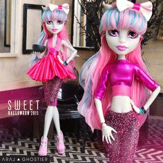 Monster Doll Sweet Halloween Dress Set by AralGhostier on Etsy