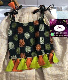 Cute baby girl dress Kids Indian Wear, Kids Ethnic Wear, Kids Dress Wear, Kids Gown, Baby Frocks Designs, Kids Frocks Design, Kids Blouse Designs, Mother Daughter Dresses Matching, Baby Dress Design