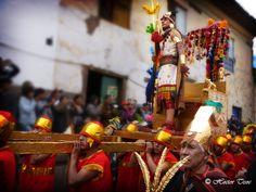 El Inca en la ceremonia del Inti Raymi