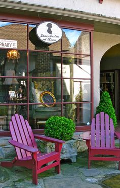 Jane Austen at Home shop in Carmel, California. Love Carmel - I haven't visited this shop yet.  :)