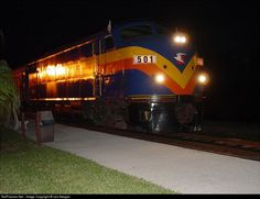 RailPictures.Net Photo: 501 Seminole Gulf F9 HEP/CC at Fort Myers, Florida by Les Keegan