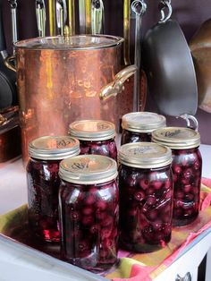 Canning Fresh Blueberries at Masala Farm with Suvir Saran