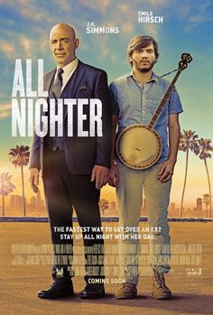 Emile Hirsch and J.K. Simmons in All Nighter (2017)