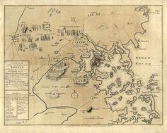 Map of the Battle of Lexington