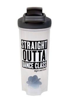 "Sugar and Bruno ""Straight Outta Dance Class"" Shaker Bottle"