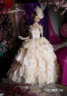 W7F-205 Sugar Kei ブランド オシャレでこだわり、個性的なウェディングドレス、カラードレス、タキシードレンタルならドレスショップブランシェ