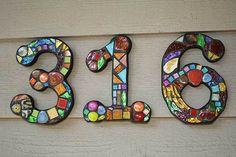 Numéros de maison Mosaic