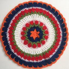Jodie's #Crochet MandalasForMarinke + awareness for the children of people with depression