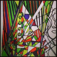 #art #paint #graphic #artist #sketch #abstraction #абстракция #эскиз #illusion