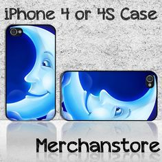 Funny Crescent Custom iPhone 4 or 4S Case Cover