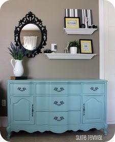 suite revival new aqua dresser - Dresser Decor