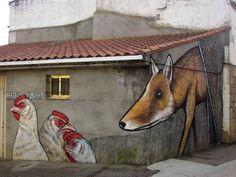Un pueblo de 500 habitantes inundado de arte urbano | @Yorokobu