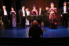 A Little Night Music cast and creatives in dress rehearsal