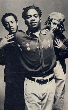 """Digable Planets, alternative hip-hop trio composed of Ishmael """"Butterfly"""" Butler, Mary Ann """"Ladybug Mecca"""" Vieira, and Craig """"Doodlebug"""" Irving. The release or their debut album Reachin' (A New Refutation of Time and Space) resulted in their classic single, Rebirth of Slick (Cool Like Dat), for which they won a Grammy Award. The album was listed in the The Source's 100 Best Rap Albums and the single as one of the 100 greatest songs in hip-hop music."""