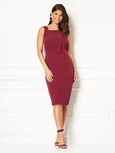 ddc98c5fe7f Shop Eva Mendes Collection - Carissa Sheath Dress. Find your perfect size  online at the