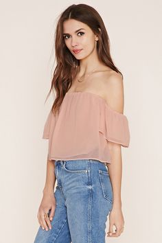 Contemporary Crop Top   Forever 21 - 2000185728