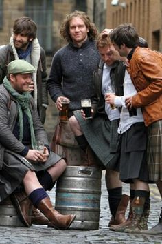 Howie Nicholsby and 21st Century kilts.