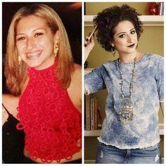 Transição Capilar - antes e depois de Vivi Najjar - cachos - Blog Juba de Leoa por Vivi Najjar