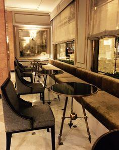 Os dejamos un par de fotos de la intervención en el Lobby y Óvalo que hemos hecho en el Hotel Avenida Palace Barcelona <3   www.antiqueboutique.com  #antiqueboutiquebcn #AntiqueBoutique #Antique #barcelona #bcn #vintage #midcentury #muebles #furniture #CustomMade