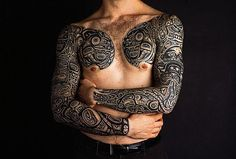 Awesome chest and arms pieces for men