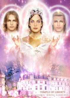 Amazon.com - Temple of Liberty - Archangel Chamuel, Lady Rowena and Orion 5x7 Laminated Image - Prints
