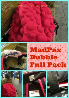 Check out @Tina Huber's Bubble Pack! How cool is this back pack??? And your tech is totally protected!  #backtoschool #kids #packs #BTS13