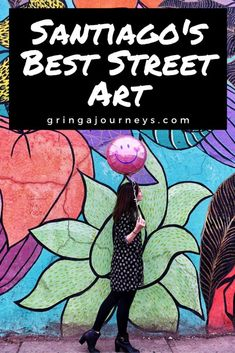 A guide to the best street art in Santiago, Chile as well as where to find it (map included! Important neighborhoods include Barrio Bellavista, Barrio Brasil, and Museo a Cielo Abierto. South America Destinations, South America Travel, Travel Destinations, Ecuador, Travel Route, Usa Travel, Best Street Art, Argentina Travel, Central America