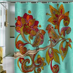 Would have to do some soul searching as to whether I could really spend $89 on a shower curtain - but...but it's sooo pretty!