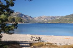 Located in the beautiful Sierra Nevada, Donner Memorial State Park (California) offers the summer vacationer opportunities for camping, picnicking, boating, fishing, water-skiing, and hiking.