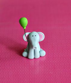 Elephant with a balloon- I like this guys nose better!