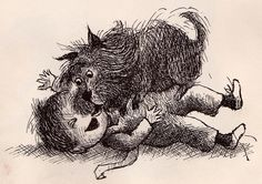 """8. """"The Quarreling Book"""", written by Charlotte Zolotow, illustration Arnold Lobel (1966) THE TURNING POINT of the whole Story!"""