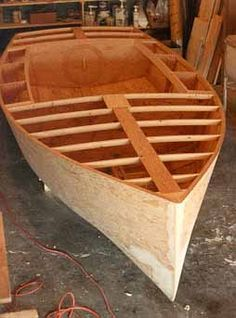 ace: Plywood boat build