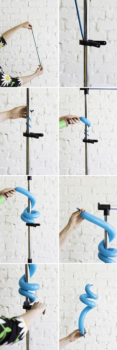 how to curl a balloon