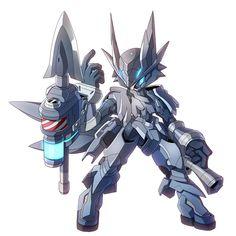 灰狼型メダロット「ローンウルフ」