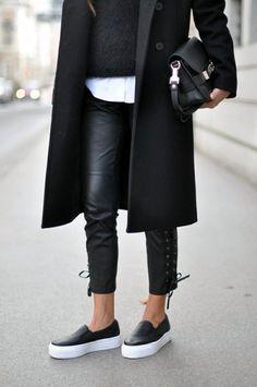 Platform Sneakers Street Style For Women (18)