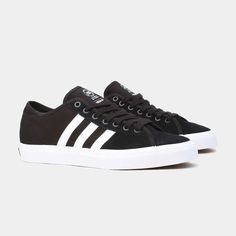 super popular 1b6e9 55b51 Adidas Originals Shoes Matchcourt RX Black White FTW Black Skateboard  Sneakers  snapchat  http